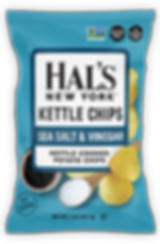 Hal's Sea salt & Vinegar Chips