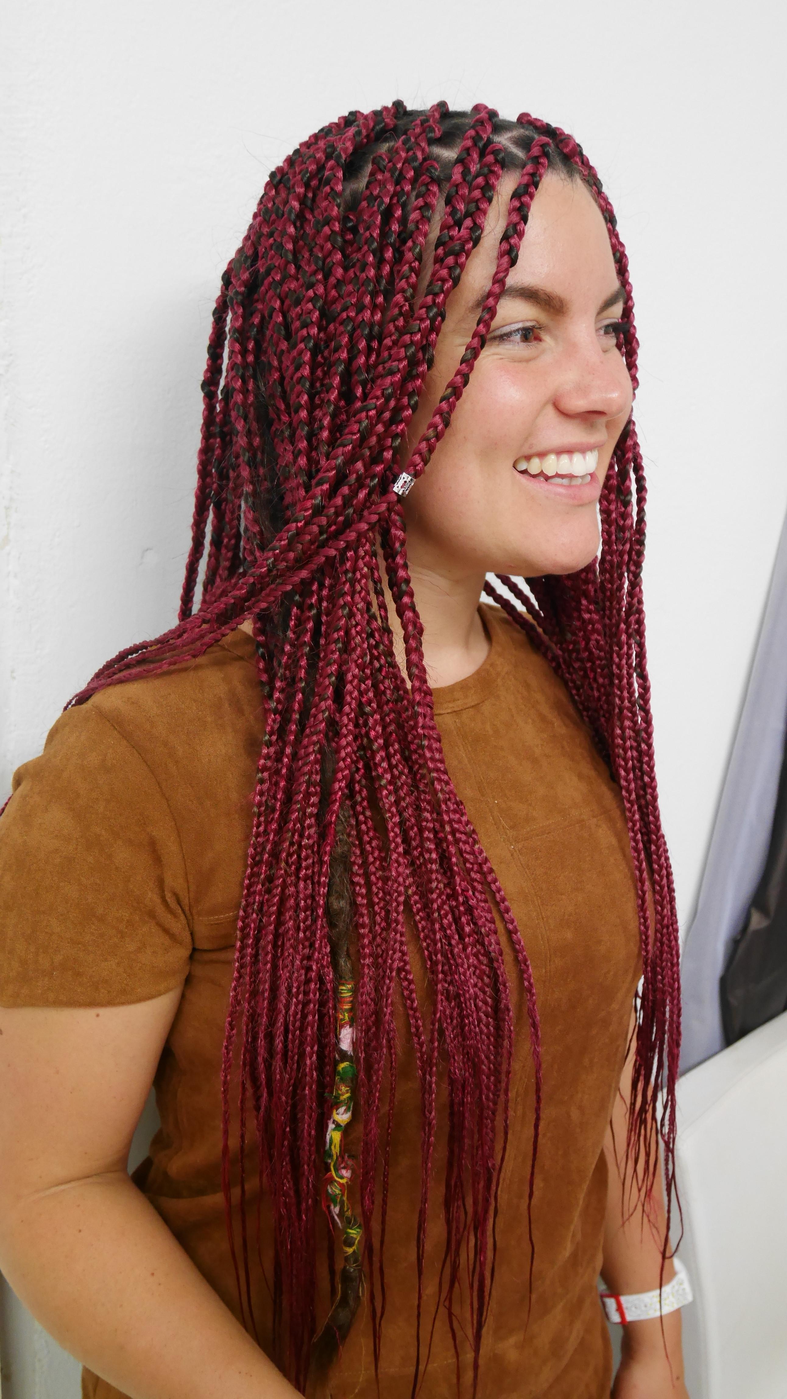 Full head plaits/box braids w/e