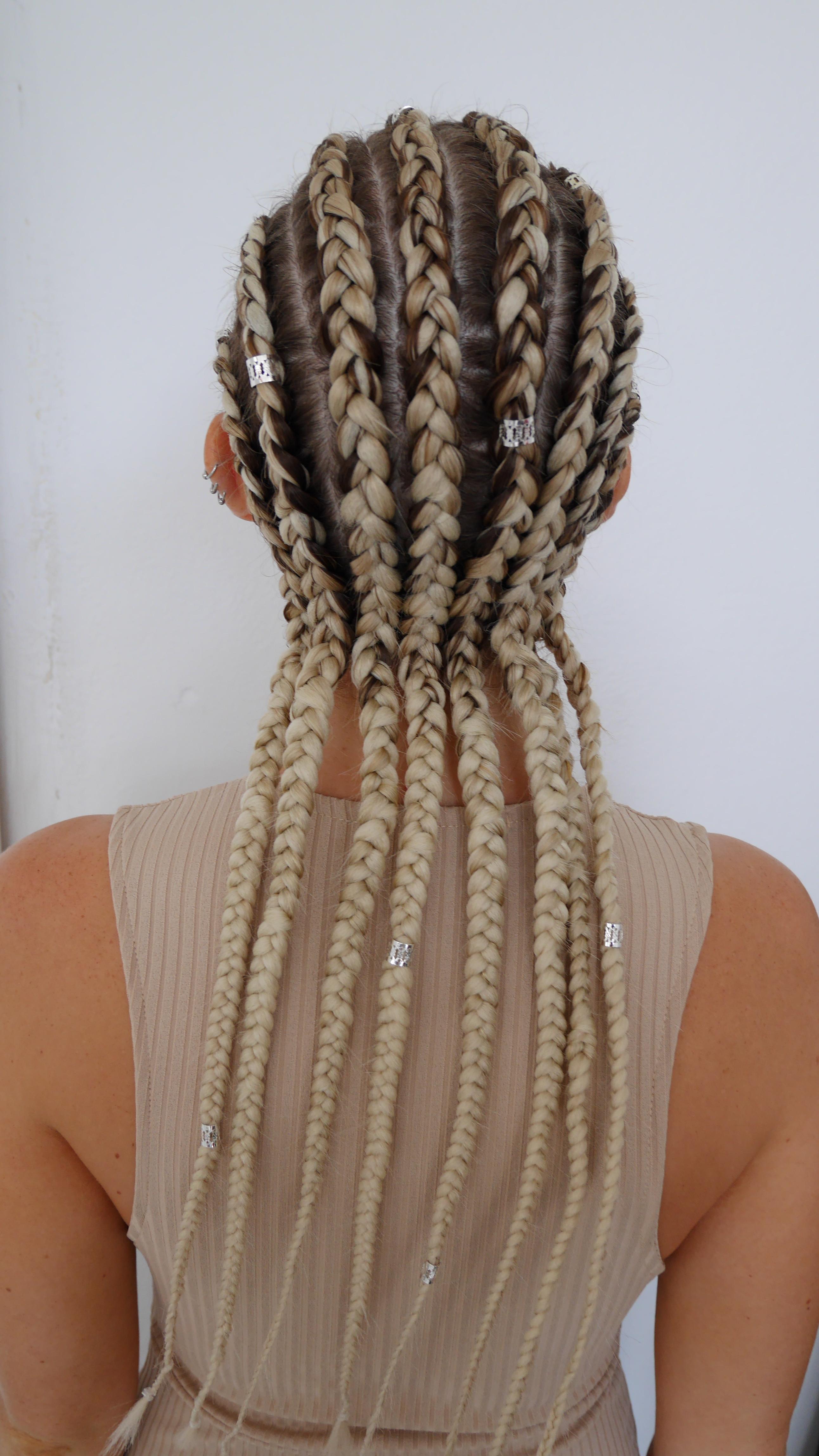 Full head corn rows w/ ext