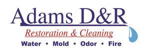 Adams Disaster and Restoration Logo