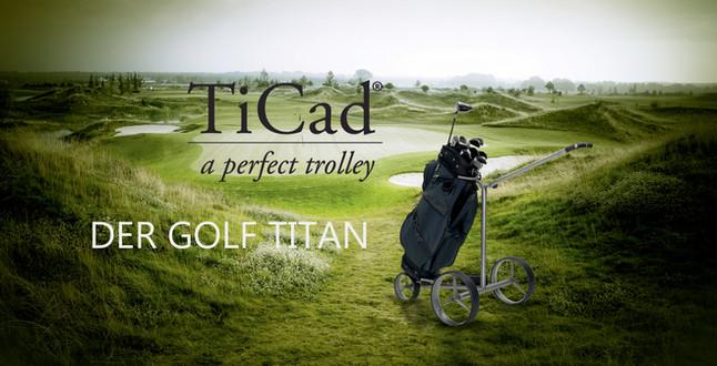 TiCad DER GOLF TITAN