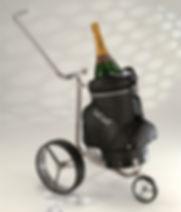 JuCad vozík na šampaňské