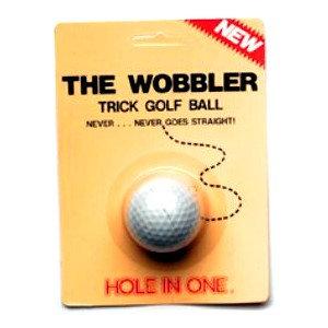Hornung's The Wobbler - žertovný míček
