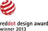 """2013: """"Reddot Design Award Winner"""""""