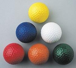 Hornung's barevný golfový míč