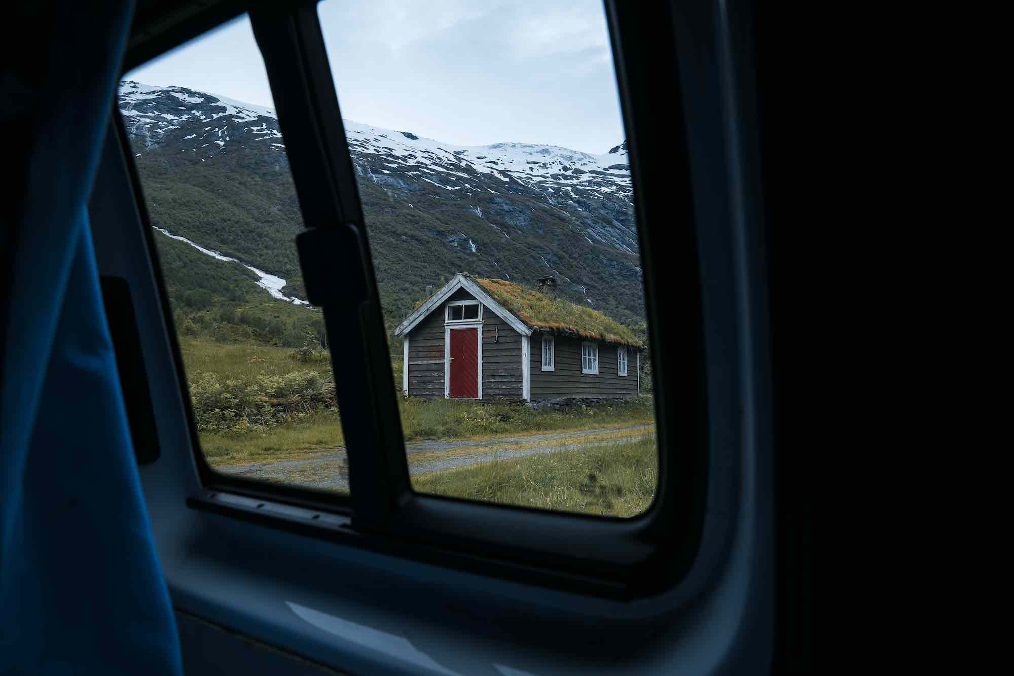 Camper van Norway