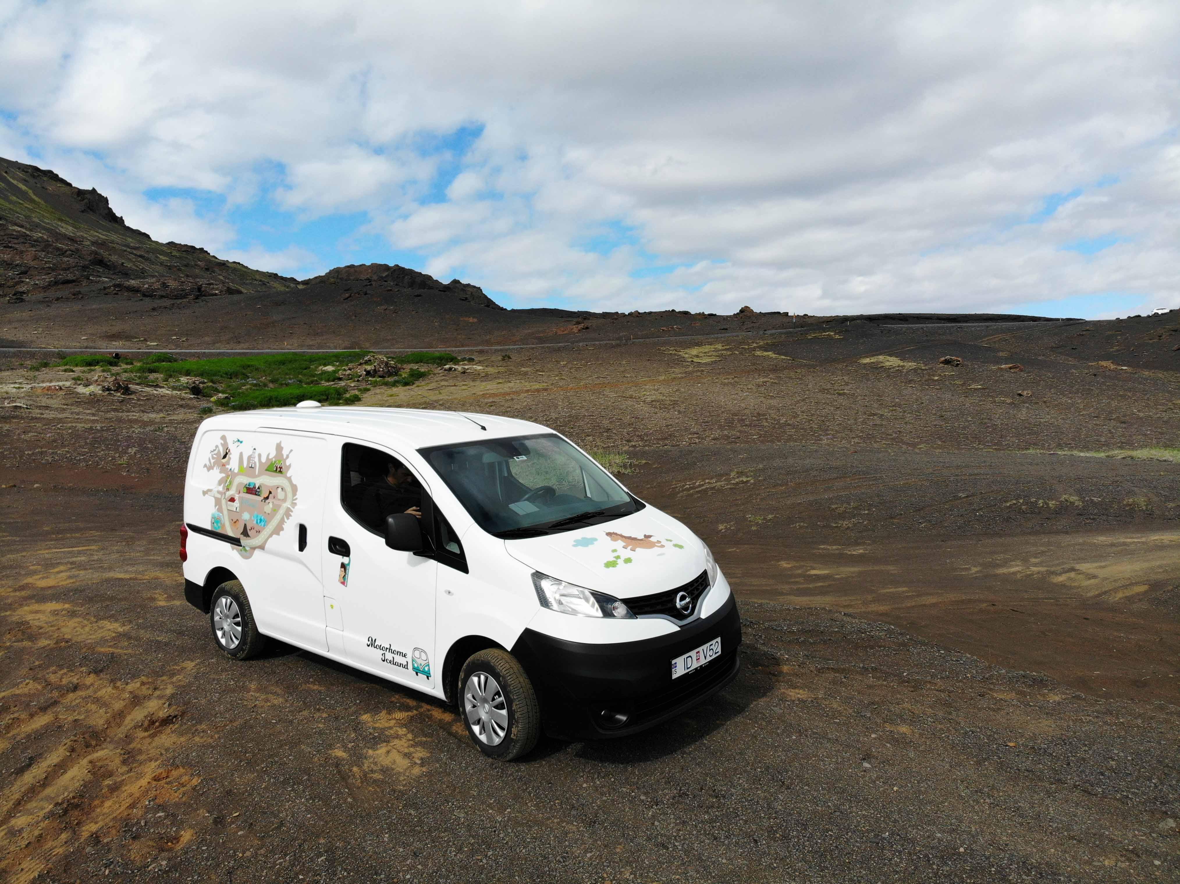 Camper en Islandia