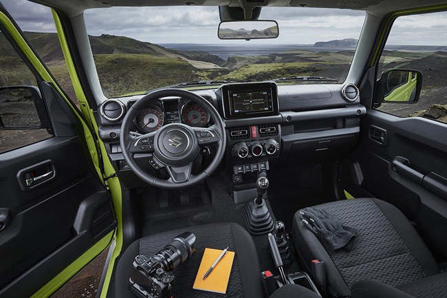 Suzuki Jimny 2019 8 - Cars Iceland