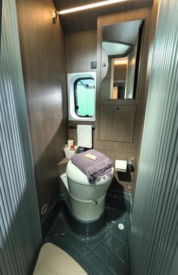 Motorhome 2 - Toilet camper Norway