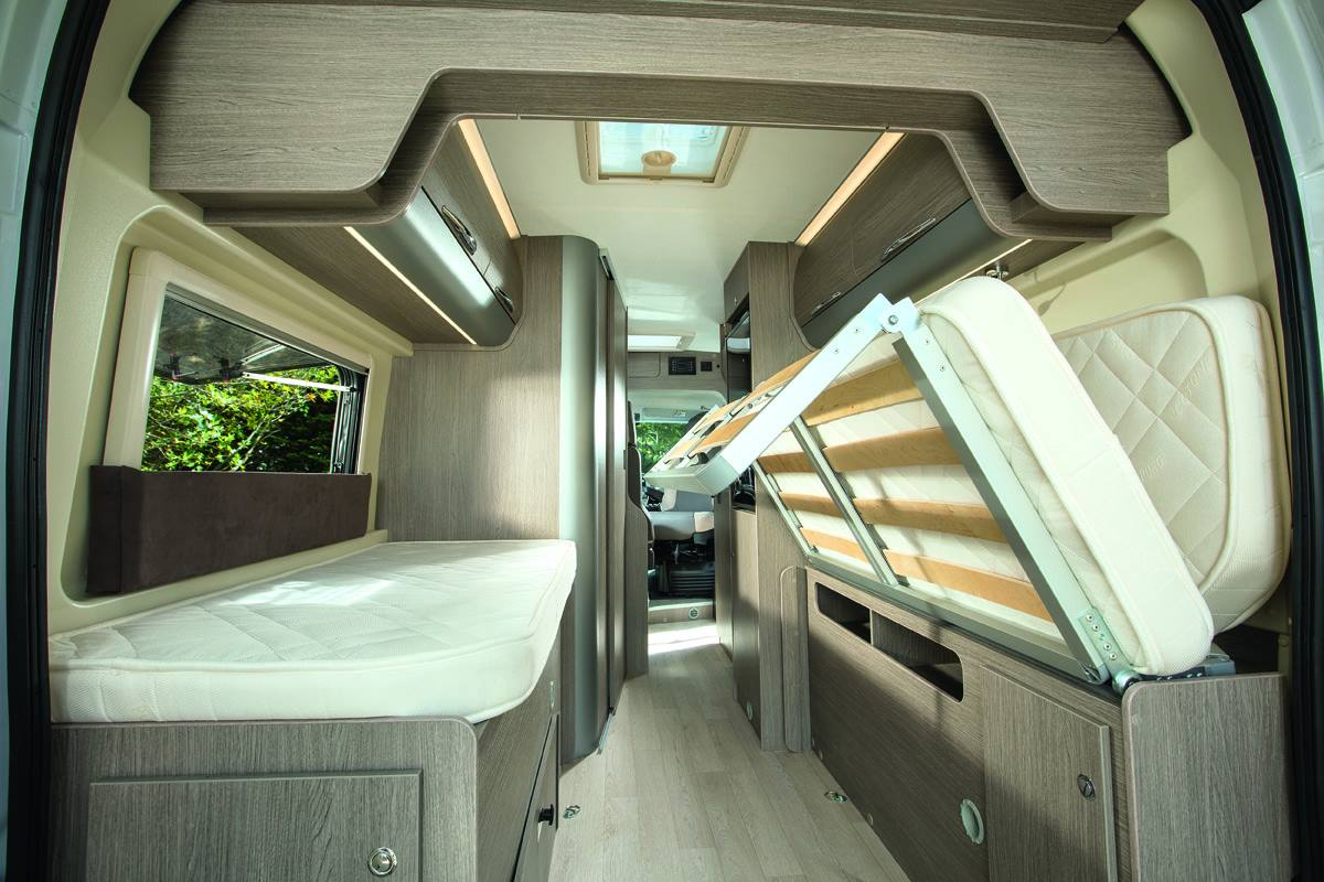 Motorhome 2 - Bedding
