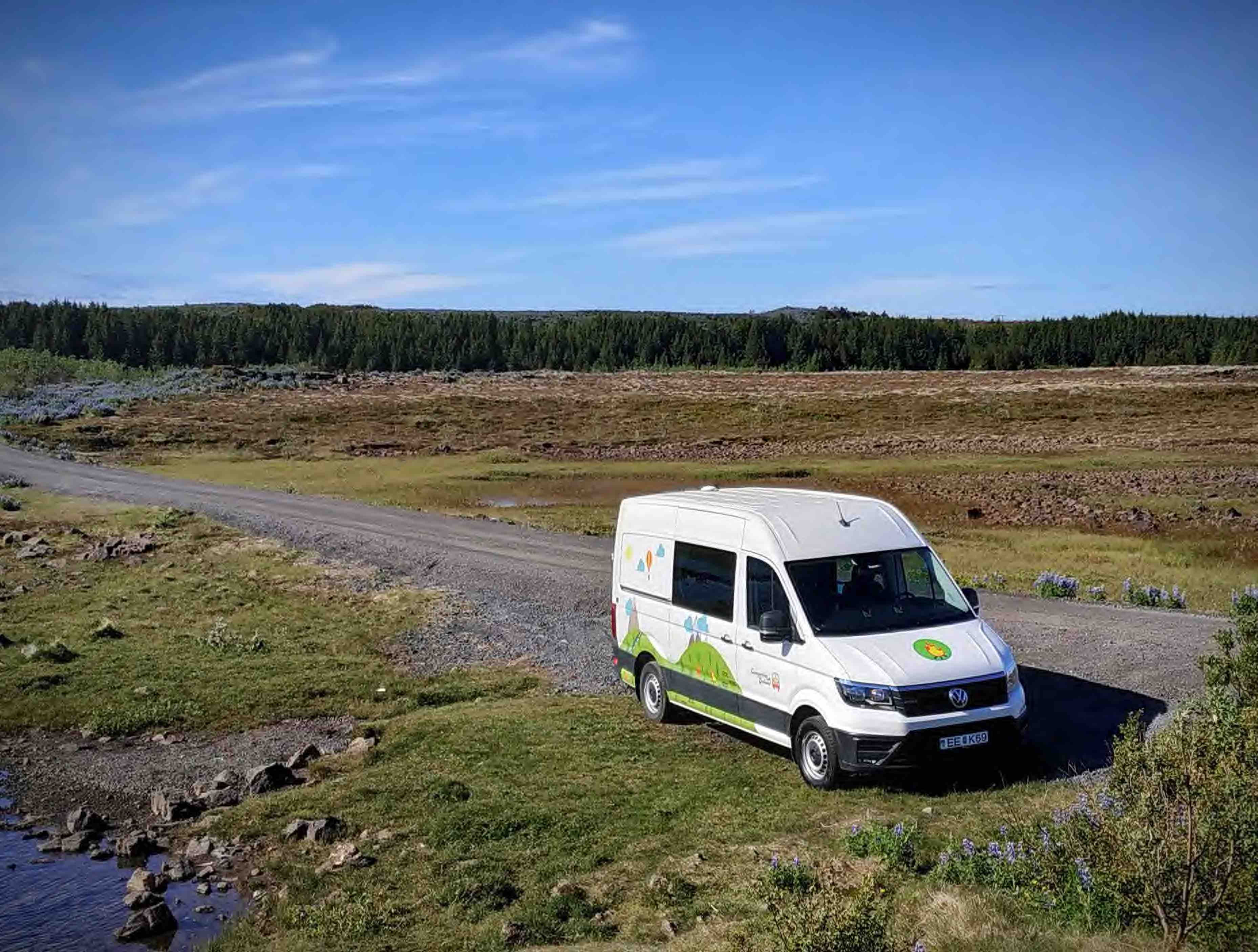 Campervan 4x4 VW Crafter
