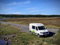 Alquiler de furgoneta camper en Islandia
