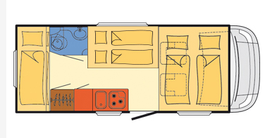Motorhome Exquisite - Campervan Norw