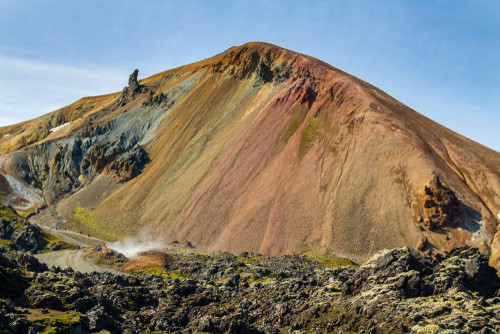 Rhyolite mountains of Landmannalaugar- best place to hike in Iceland