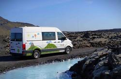 Furgoneta 4x4 en Islandia