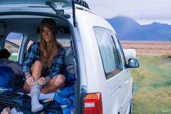 Caddy VW Camper Norway