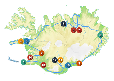 La vuelta a Islandia - Vuelta Islandia - Ver vuelta a Islandia