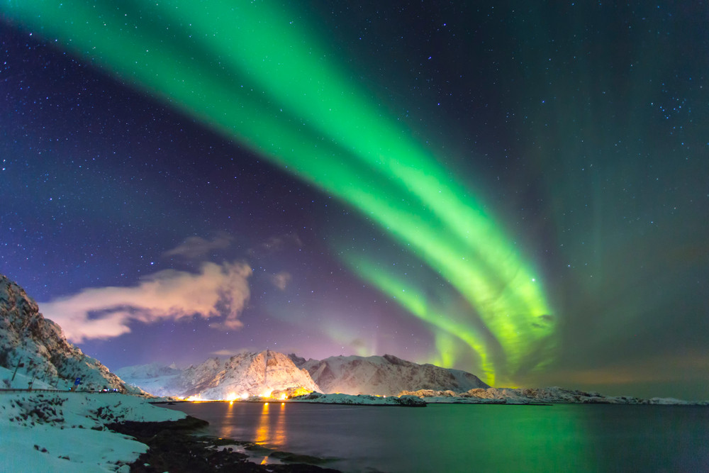 Autumn in Iceland - Northern lights in Iceland