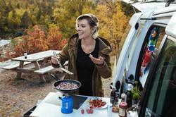 Campervan in Norway