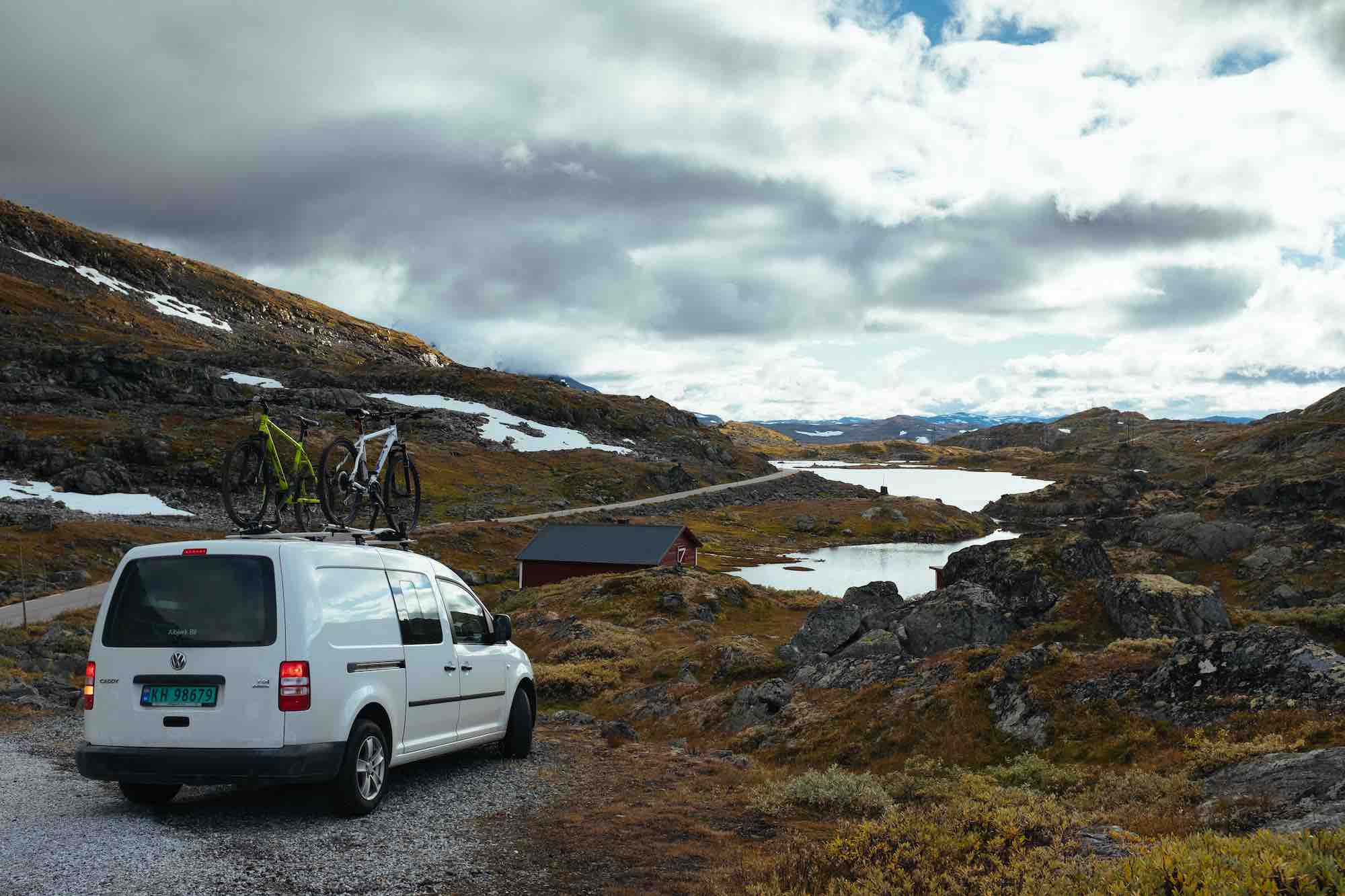 Campervan Norway VW Caddy