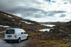 Campervan Norway VW Caddy