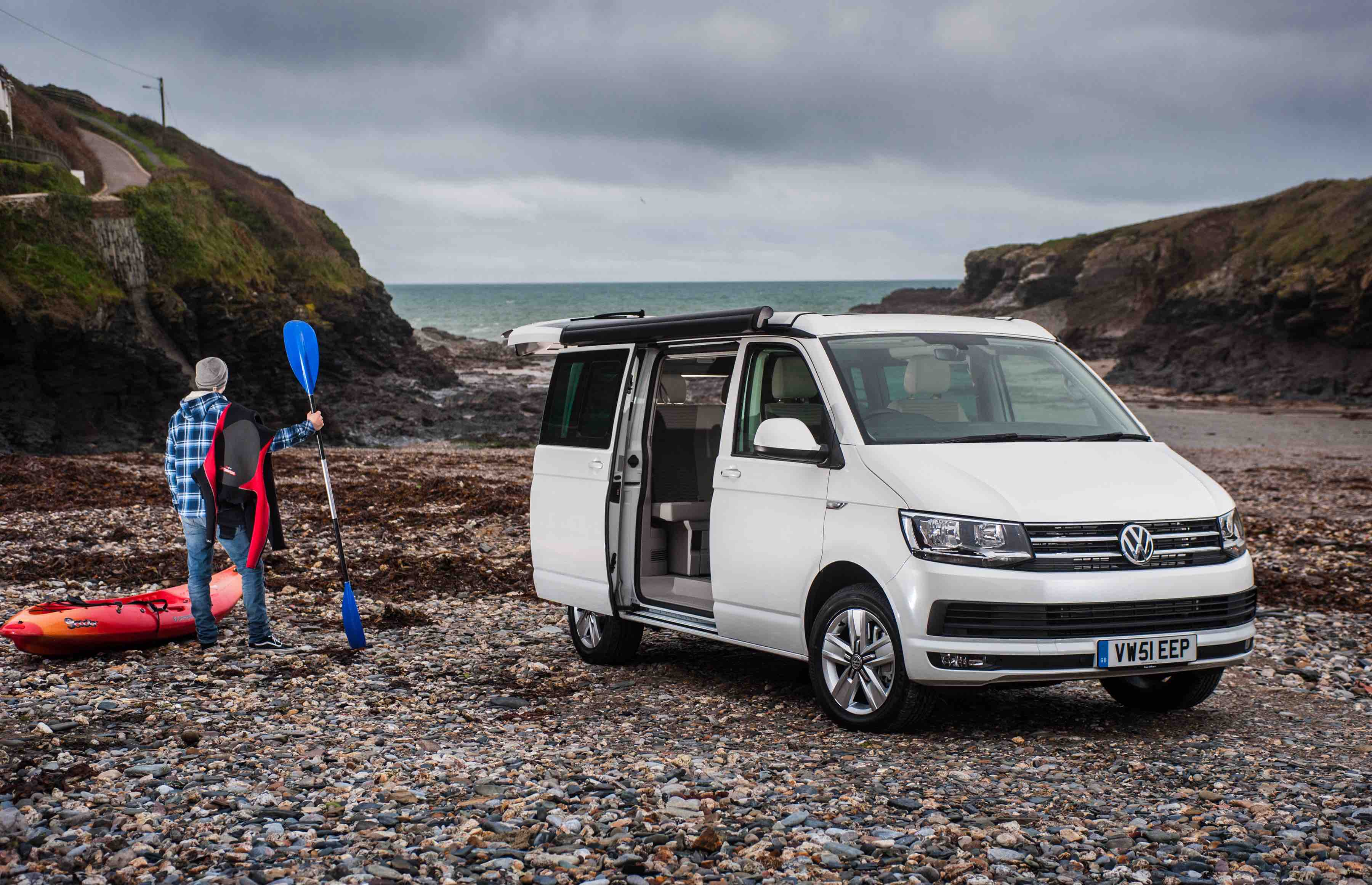 Campervan Iceland - VW California