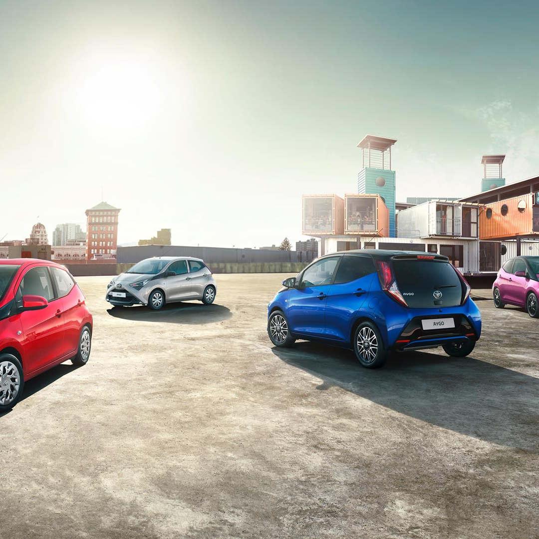 Toyota Aygo 1 - Cars Iceland