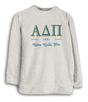 Alpha Delta Pi greek date trellis Woolly
