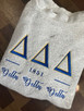 Tri Delta Woolly Threads pullover