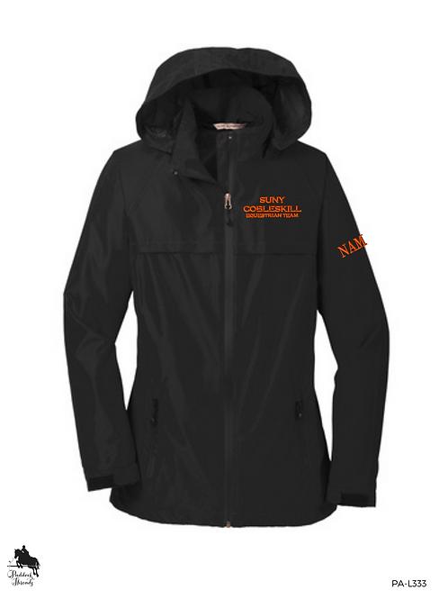 SUNY Cobleskill Hunt Seat Team Ladies Waterproof Jacket