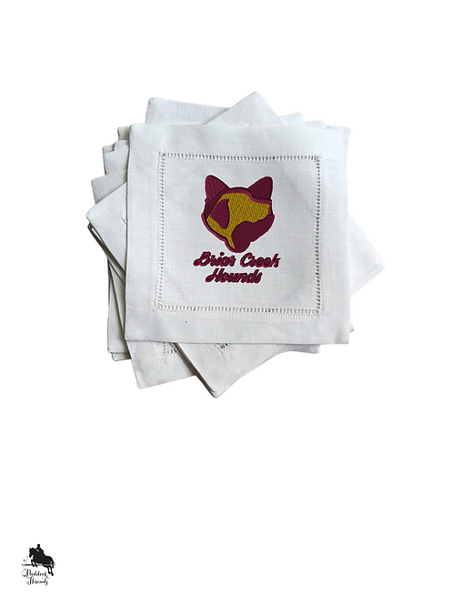Briar Creek Hounds Cocktail Napkins