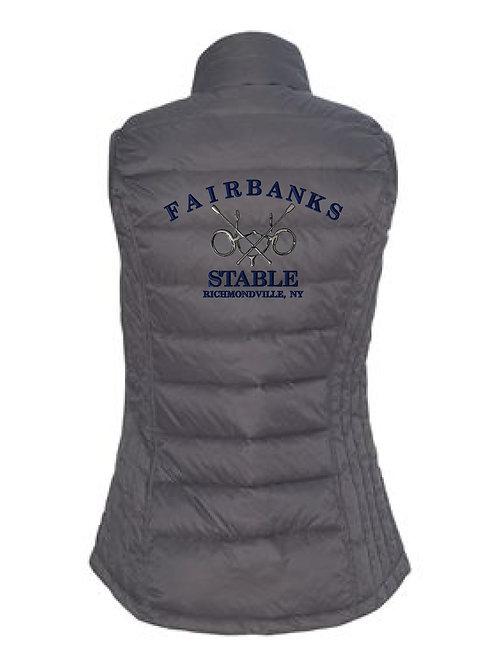 Fairbanks Stable Ladies Puffy Vest