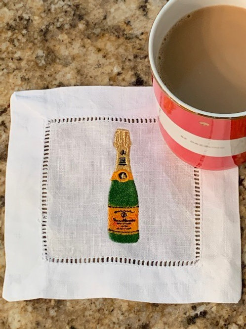 Champagne Wishes Cocktail Napkins