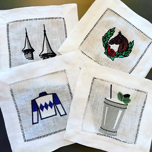 Kentucky Derby Inspired Cocktail Napkins II