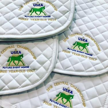 USEF FEH Saddle Pads