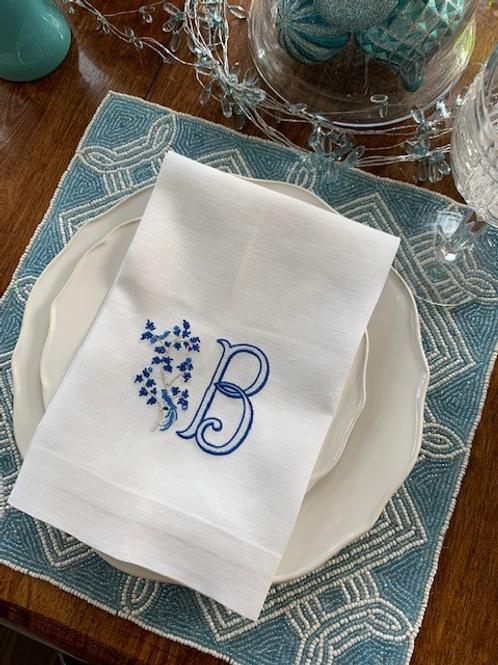 Chantilly Bird Dinner Napkin