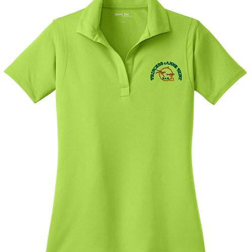 Ladies Lime Micropique Sport-Wick® Polo