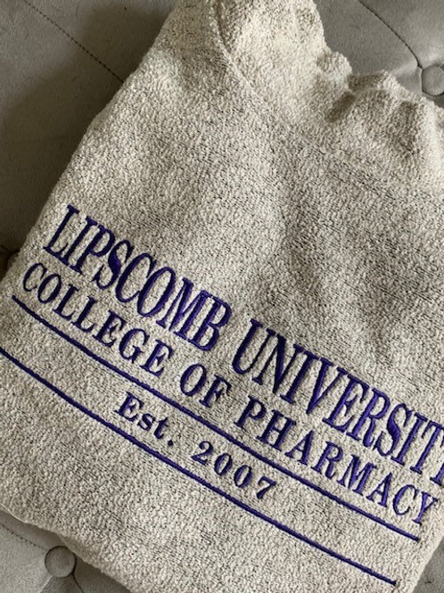 Lipscomb University College of Pharmacy Woolly Threads Natural Pullover