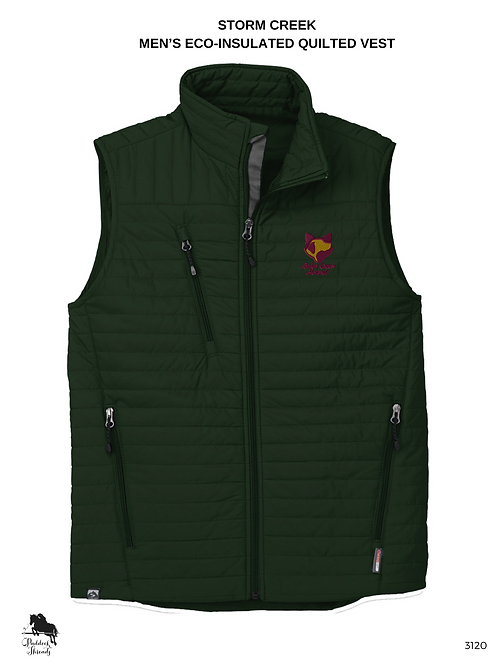 Briar Creek Hounds Men's Eco-Insulated Quilted Vest