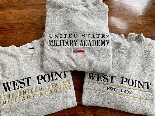 United States Military Academy / West Point Woolly Threads Natural Pullover