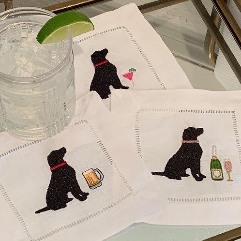 Celebration Labradors Retriever Cocktail Napkins