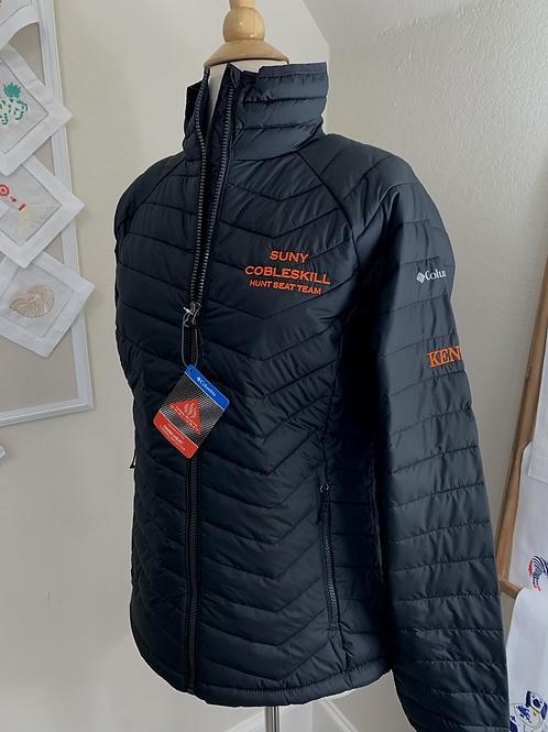 SUNY Cobleskill Hunt Seat Ladies Columbia Powder Lite Jacket