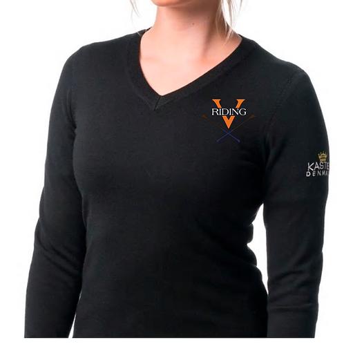 UVA Riding Team Kastel Denmark UVA Riding V-neck Sweater
