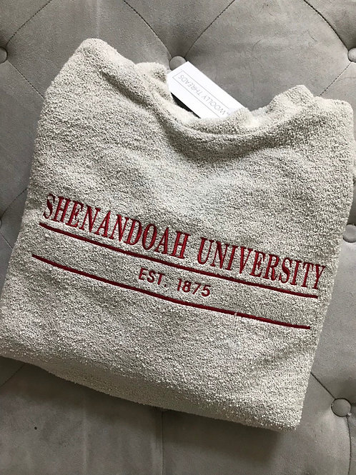 Shenandoah Woolly Threads Natural Pullover