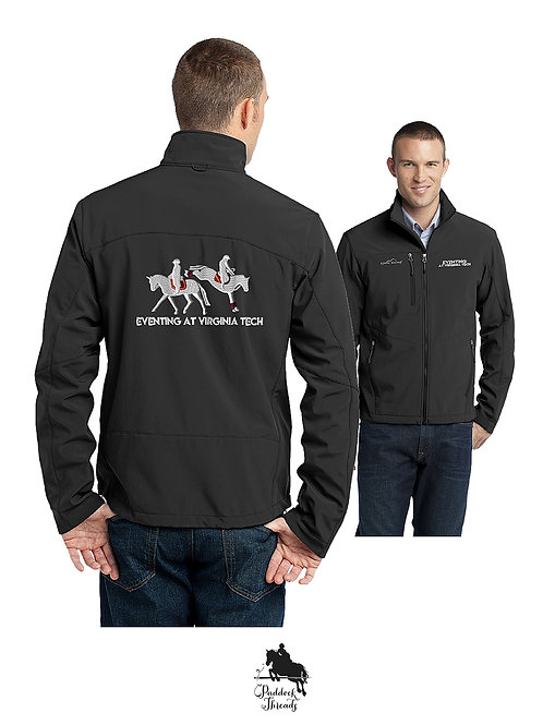 Eventing at Virginia Tech Men's Soft Shell Jacket