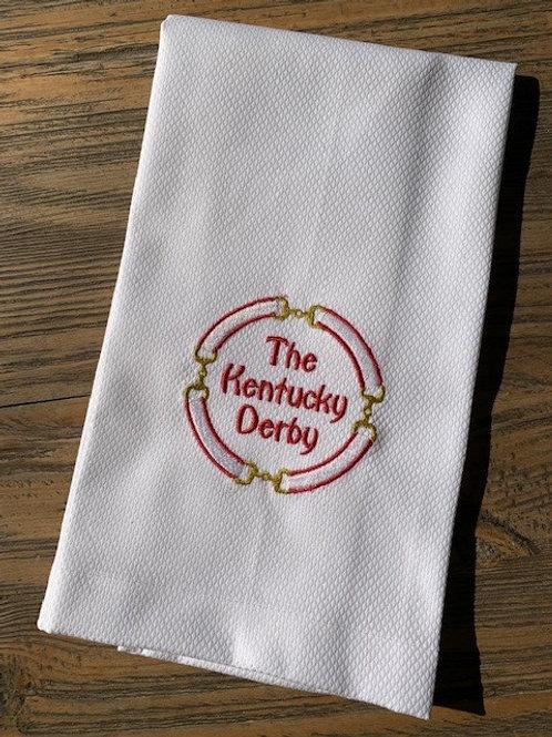 Kentucky Derby Towel