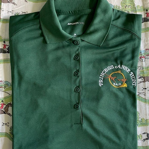 "Ladies ""Princess Ann Hunt"" Green Polo"