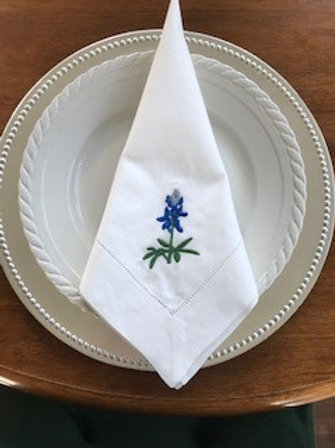 Bluebonnet Dinner Napkin