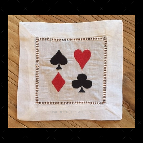 Card Shark Cocktail Napkins