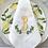 Thumbnail: Lemon Swag Monogrammed Dinner Napkins